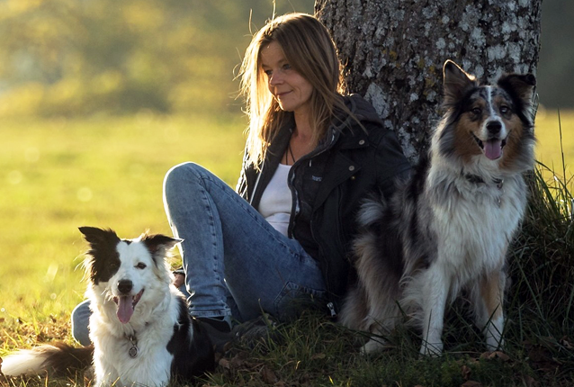 Hundetrainerin Vanessa Pfister